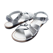 Original Saltwater Sandals - Youth -Silver - how-i-wonder