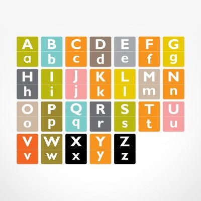 Alphabet Flash Cards - Coloured