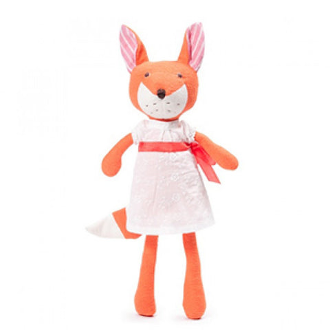 Organic Handmade Toys - Hazel Village - Flora Fox - How I Wonder.co.uk - 1