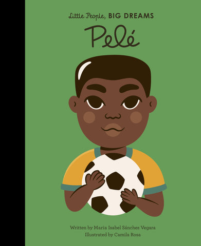 little people big dreams- book- pele