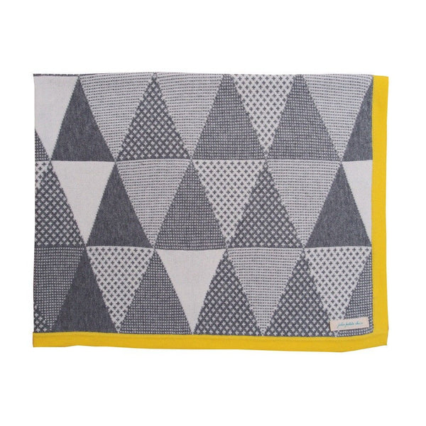 Unique Cotton Baby Blanket - Zest Geometric Blanket - How I Wonder.co.uk - 3