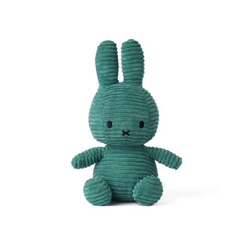 Miffy Corduroy Soft Toy 24cm - Green - how-i-wonder
