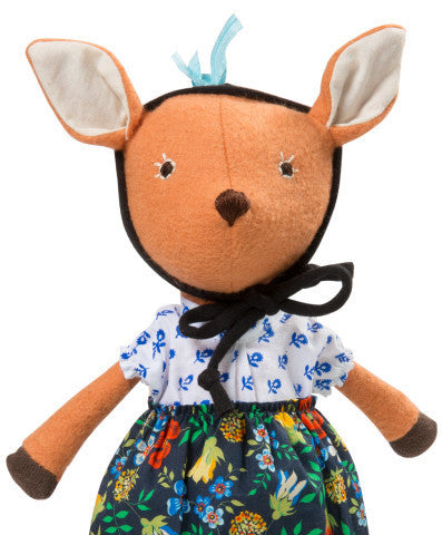 Hazel Village - Organic Handmade Toys - Phoebe Fawn - How I Wonder.co.uk - 2