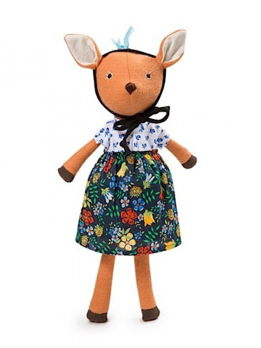 Hazel Village - Organic Handmade Toys - Phoebe Fawn - How I Wonder.co.uk - 1
