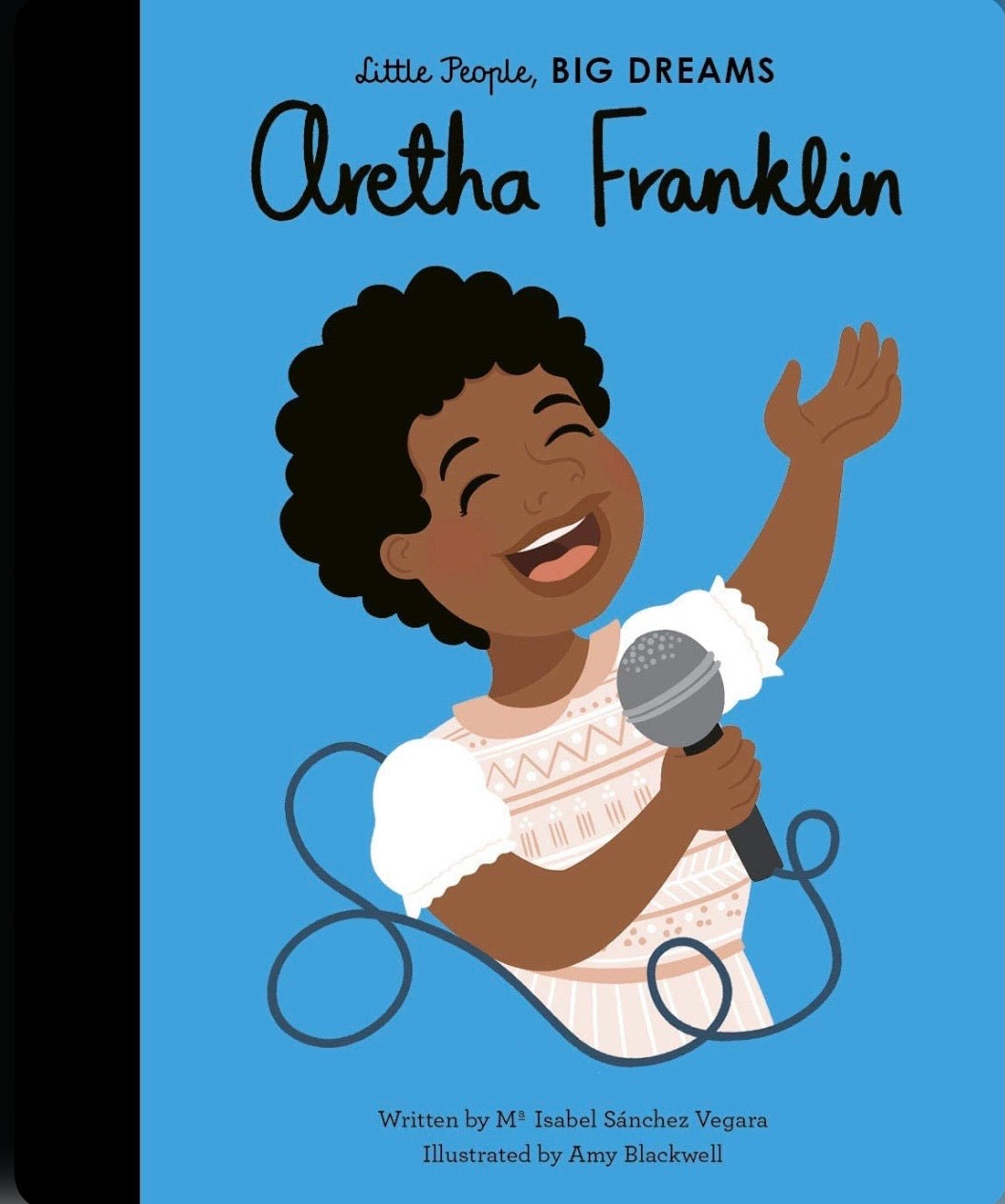 little people big dreams - aretha franklin - how i wonder