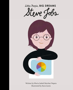 LITTLE PEOPLE BIG DREAMS- BOOK - STEVE JOBS