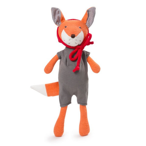 Organic Handmade Toys - Hazel Village - Reginald Fox Grey Romper