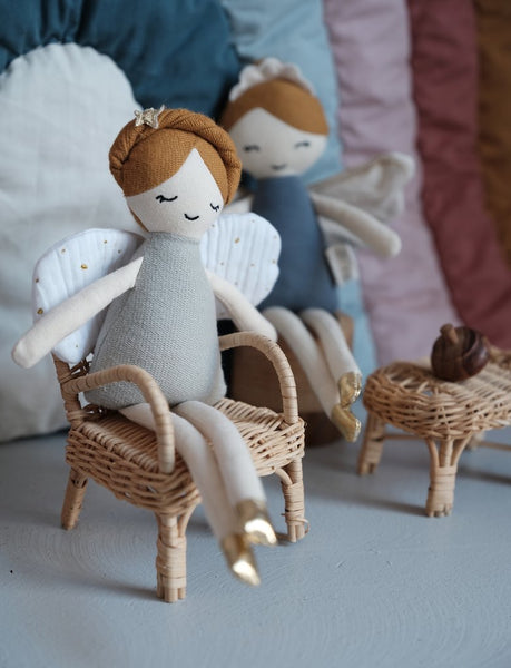 Fabelab, Tooth Fairy Doll with Pouch - How I Wonder