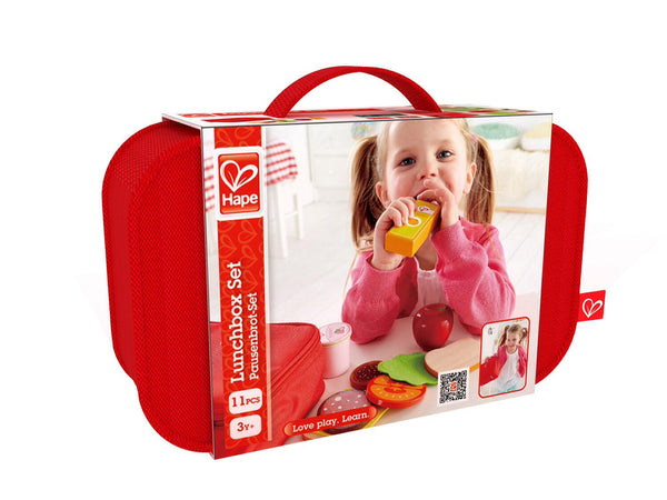 Hape Wooden Toy - Lunchbox Set Role Play Set - How I Wonder.co.uk - 2