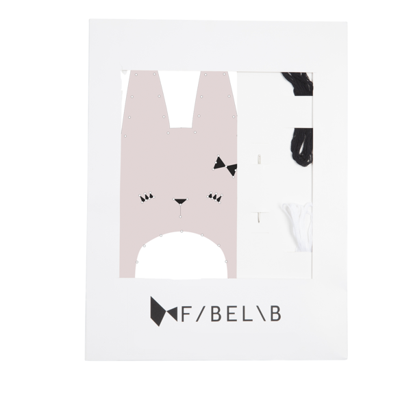 Fabelab:  Embroidery Kit, Bunny