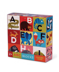 Jumbo Block Puzzle - ABC-123 - Crocodile Creek - how-i-wonder
