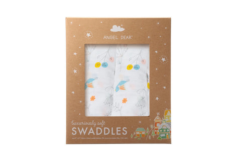 Pretty Foliage - Swaddle Duo - Angel Dear