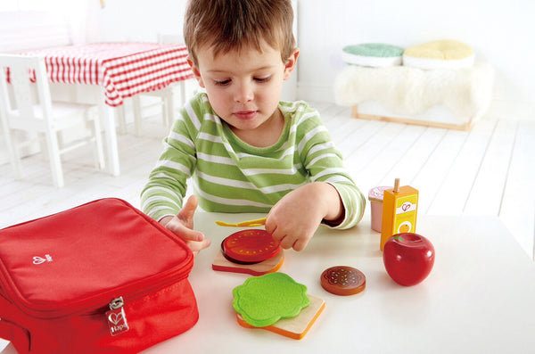 Hape Wooden Toy - Lunchbox Set Role Play Set - How I Wonder.co.uk - 4