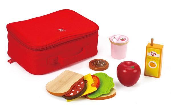 Hape Wooden Toy - Lunchbox Set Role Play Set - How I Wonder.co.uk - 1
