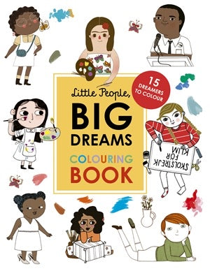 Little People Big Dreams - Colouring Book