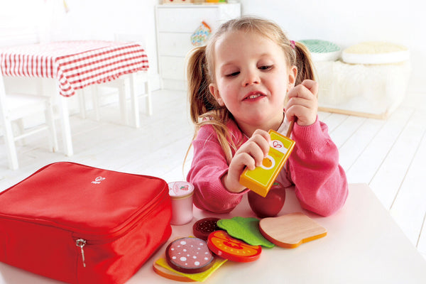 Hape Wooden Toy - Lunchbox Set Role Play Set - how-i-wonder