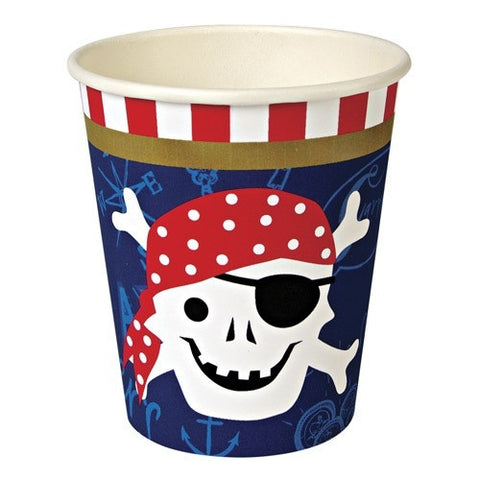 Paper Cups - Meri Meri - Pirate Theme - How I Wonder.co.uk - 1