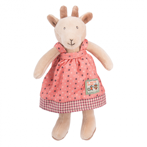 Moulin Roty Goat  - Pirette - La Grande Famille - Soft Toy - How I Wonder.co.uk