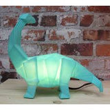 LED Mini Green Origami Dinosaur Lamp - House of Disaster