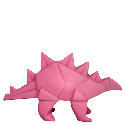 LED Mini Light - Pink Origami Dinosaur - House of Disaster - how-i-wonder
