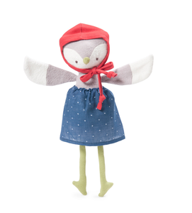 Hazel Village - Organic Handmade Toys - Lucy Owl - How I Wonder.co.uk