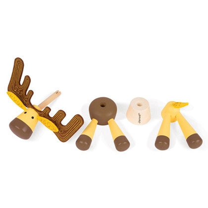 Janod Toys - Zigolos Assembling Elk - How I Wonder.co.uk - 2