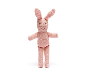 Crochet Pink Bunny - Pebble - how-i-wonder