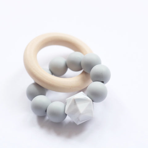 Blossom & Bear - Teething Toy - 'Grace' Marble