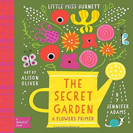 The Secret Garden - Board Books for Toddlers - How I Wonder.co.uk - 1