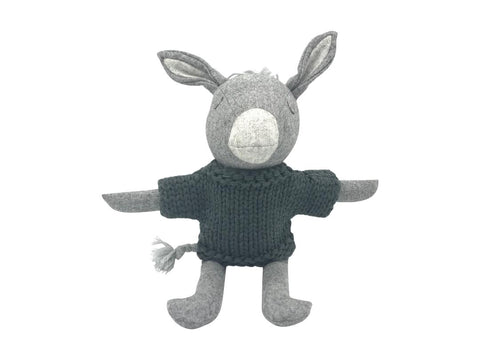 And the Little Dog Laughed - Oscar Donkey - Soft Toy