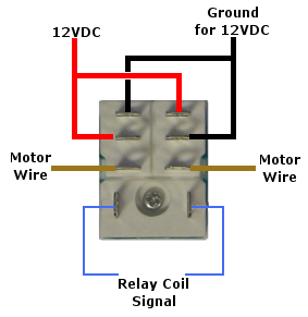 12 Volt Double-Pole Double-Throw Relay (DPDT)
