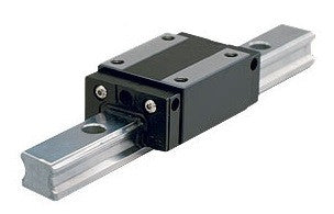 Linear bearing slide rails