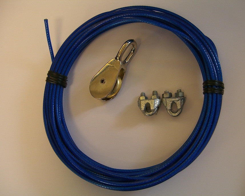 Pulley Lifting Cables for Linear Actuators