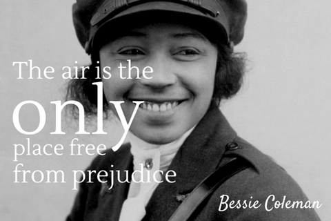 Bessie Coleman Educational Doll and Biography