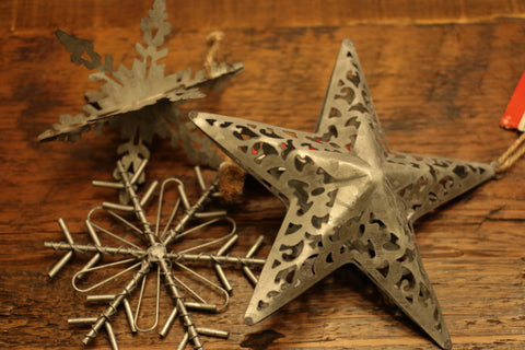 Supplies - Hanging Tin Stars