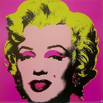 Marilyn Pink, Offset Lithograph, Andy Warhol - Fine Artwork