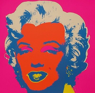 Marilyn #22 (Sunday B. Morning), Silkscreen, Andy Warhol - Fine Artwork