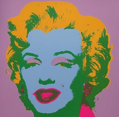 Marilyn #28 (Sunday B. Morning), Silkscreen, Andy Warhol - Fine Artwork
