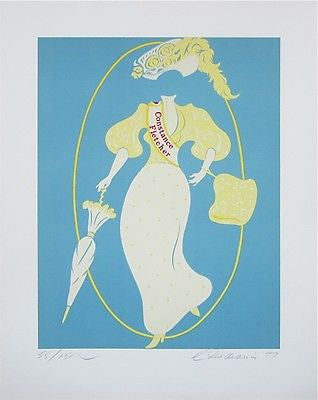 Constance Fletcher (Mothers of Us All), Ltd Ed Lithograph, Robert Indiana - Fine Artwork