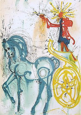 Le Cheval de Triomphe, Ltd Ed Offset Lithograph, Salvador Dali - Fine Artwork