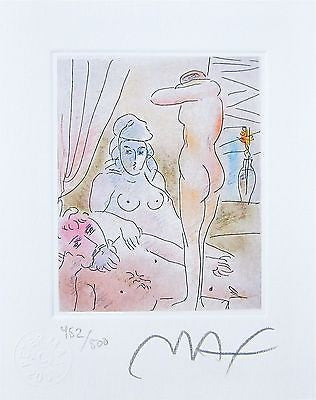 Homage to Picasso Vol. I #III,, Limited Edition Lithograph, Peter Max - Fine Artwork