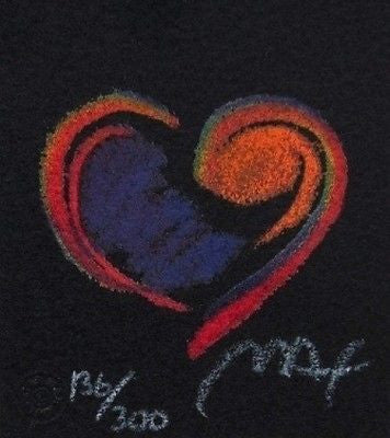 Heart Suite III #IV (Mini), Limited Edition Lithograph, Peter Max - Fine Artwork