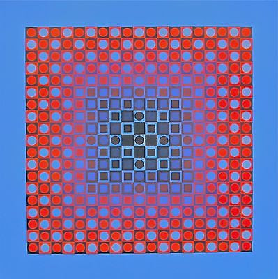 PLANETARY FOLKLORE I, 1973 Offset Lithograph, Victor Vasarely - Fine Artwork