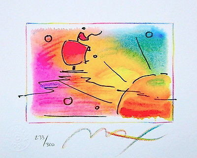Sunset Sail (Mini) by Peter Max - Fine Artwork