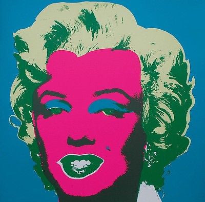 Marilyn #30 (Sunday B. Morning), Silkscreen, Andy Warhol - Fine Artwork