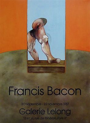 Untitled, 1987 Exhibition Poster, Francis Bacon - Fine Artwork