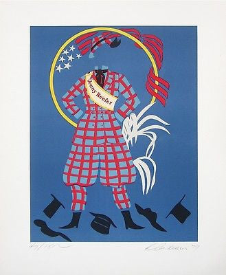 Jenny Reefer (Mother of Us All), Ltd Ed Lithograph, Robert Indiana - Fine Artwork