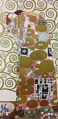 Fulfillment, 1980s Offset Lithograph, Gustav Klimt - Fine Artwork