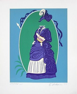 Anne (Mothers of Us All), Ltd Ed Lithograph, Robert Indiana - Fine Artwork