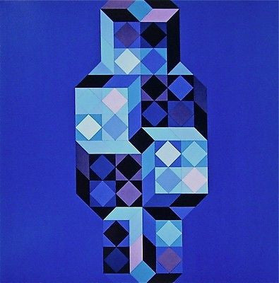 Untitled, Offset Lithograph, Victor Vasarely - Fine Artwork